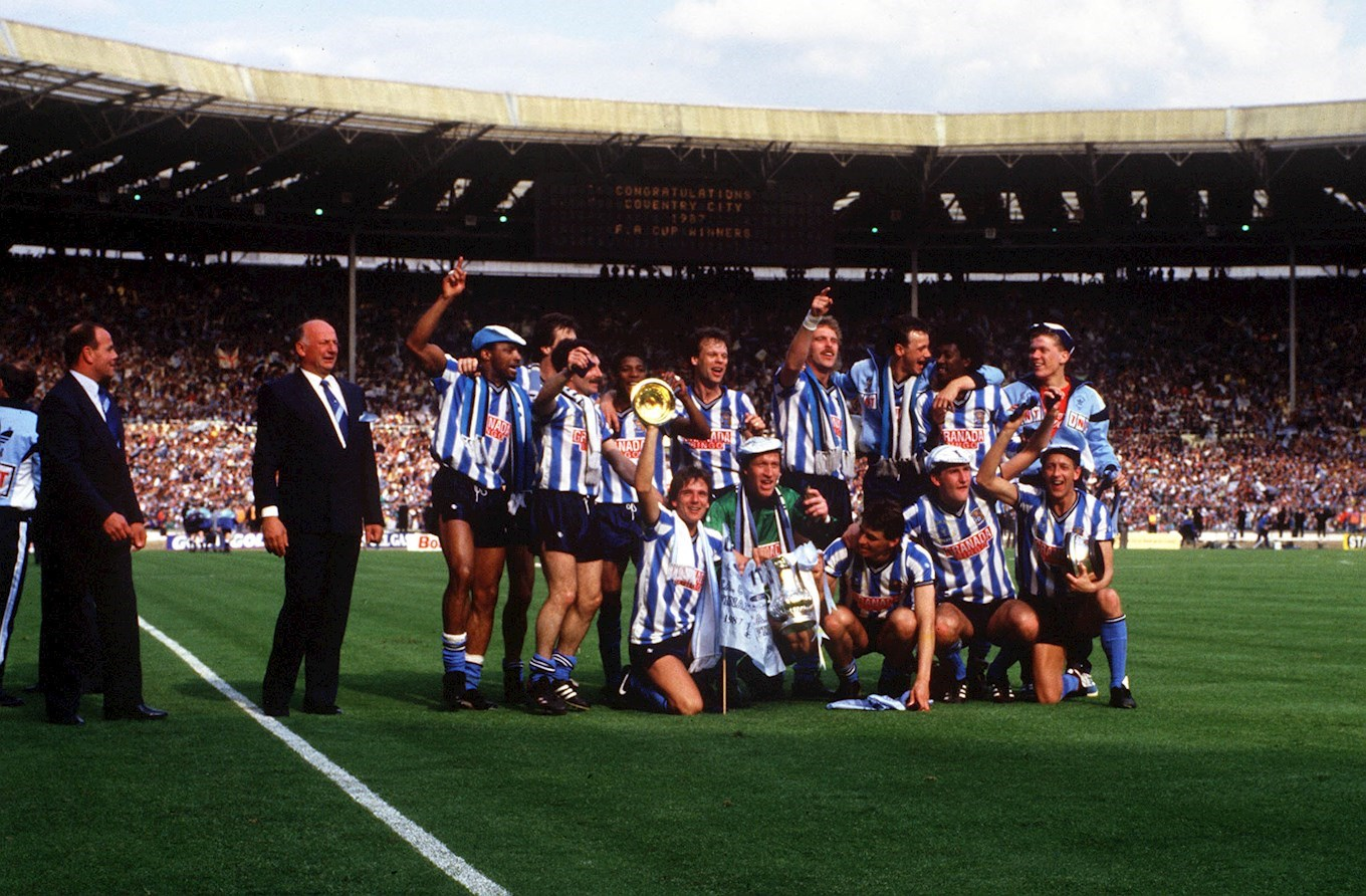Classic Game 1987 Fa Cup Final Streamed On Saturday S 33rd Anniversary News Coventry City