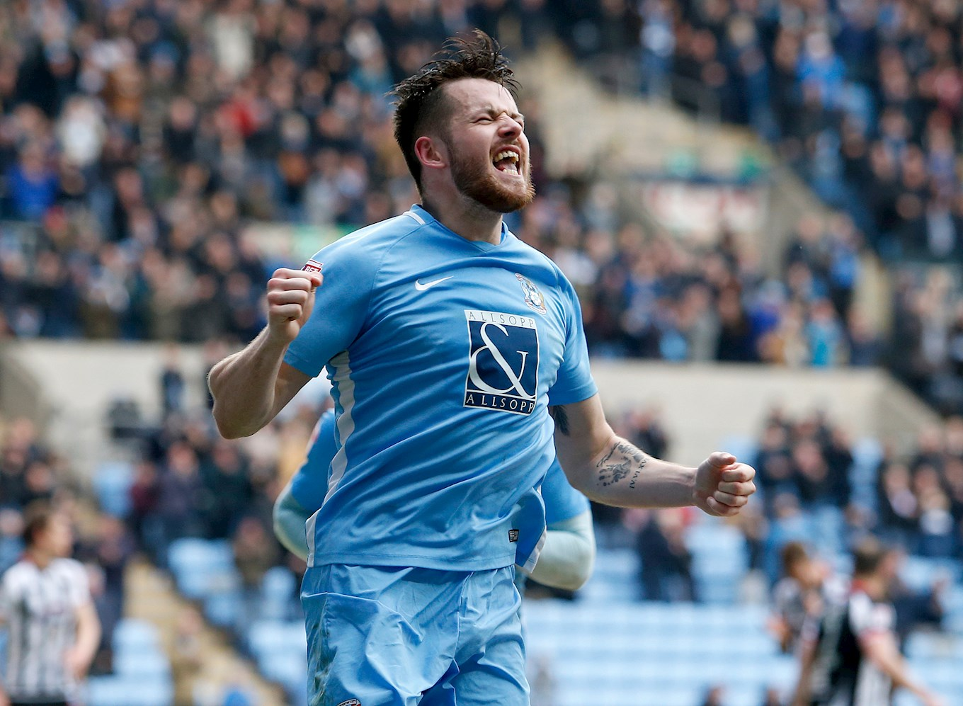 NEWS Marc McNulty Nominated For PFA Player Of The Month