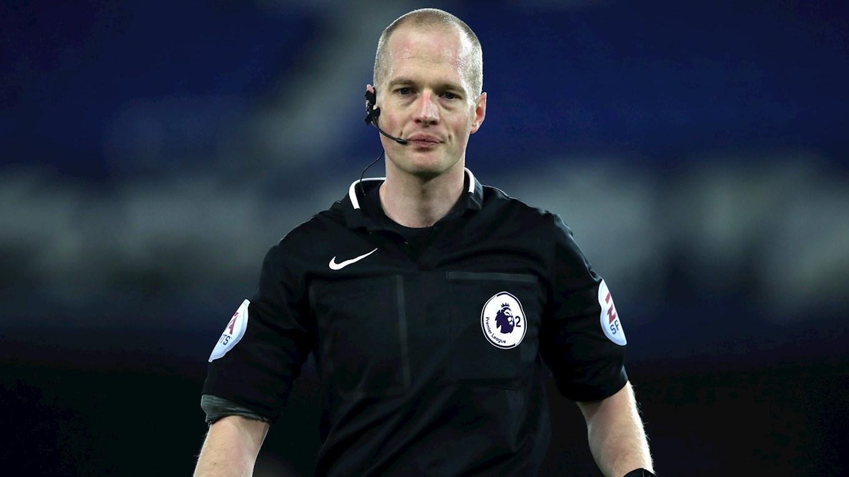 OFFICIALS: Referee Watch Versus Gillingham