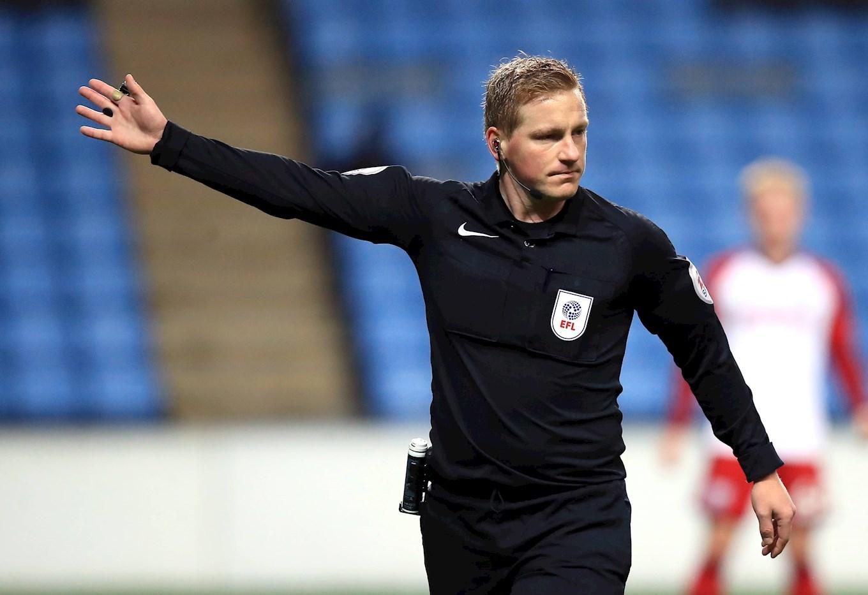 OFFICIALS: Referee Watch Versus MK Dons