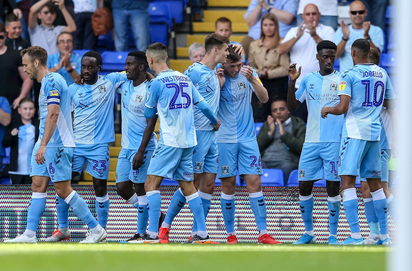 TEAM NEWS: Sky Blues Unchanged For Pompey Clash