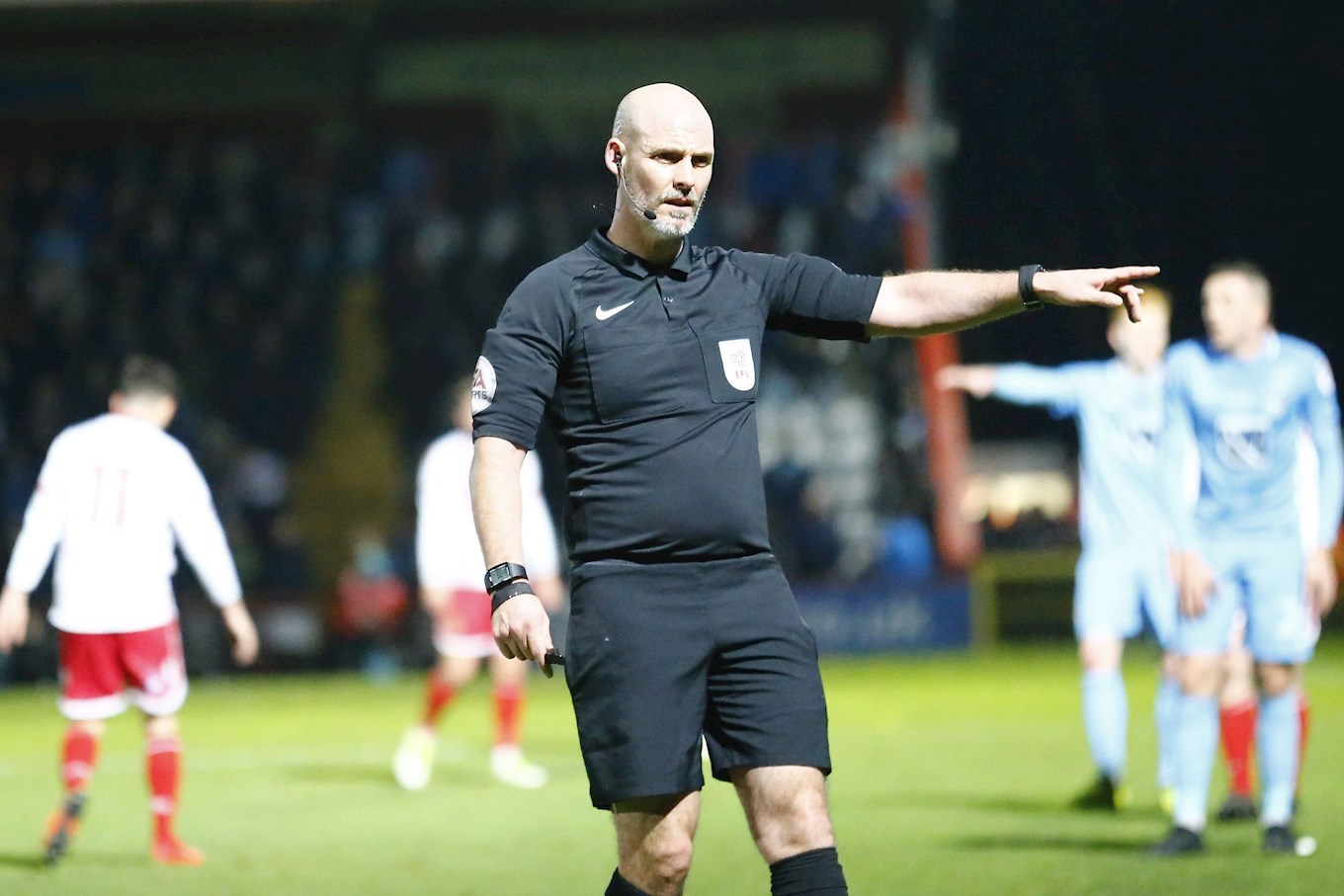 OFFICIALS: Referee Watch Versus Portsmouth
