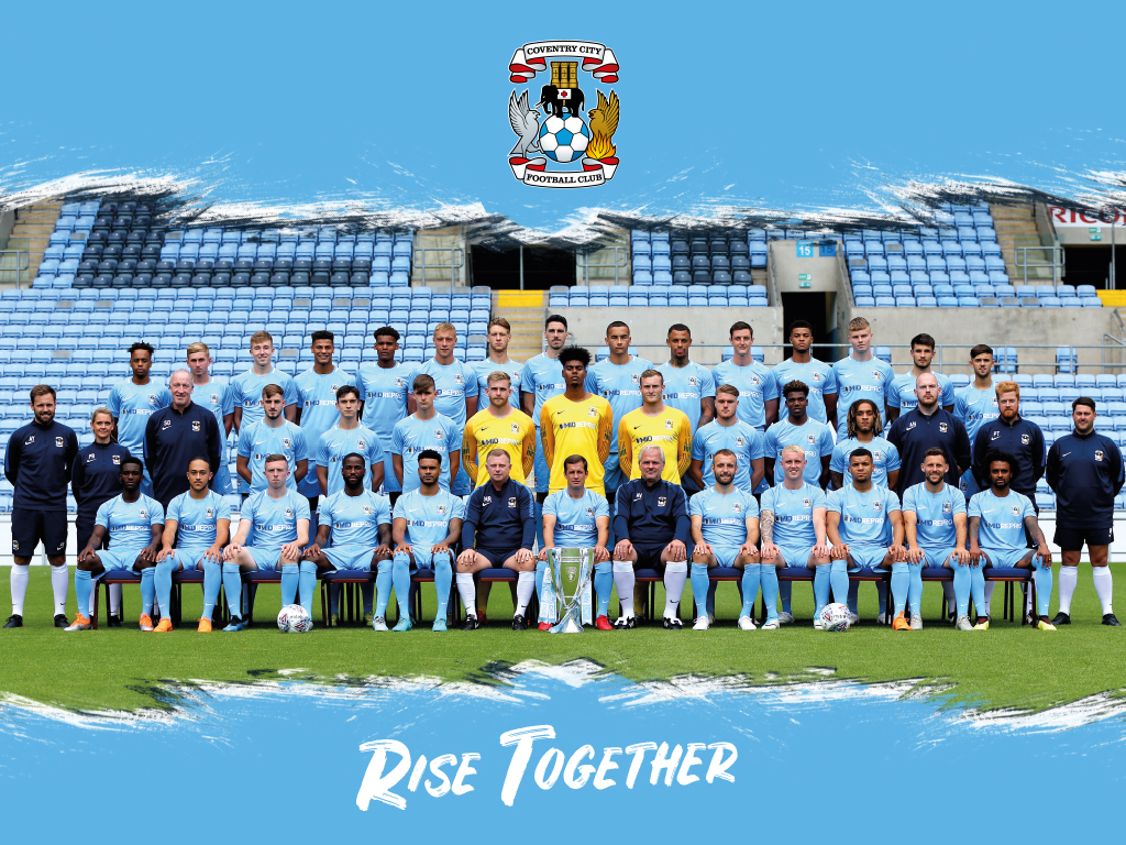DOWNLOAD: Get The Coventry City 2018/19 Squad Photo