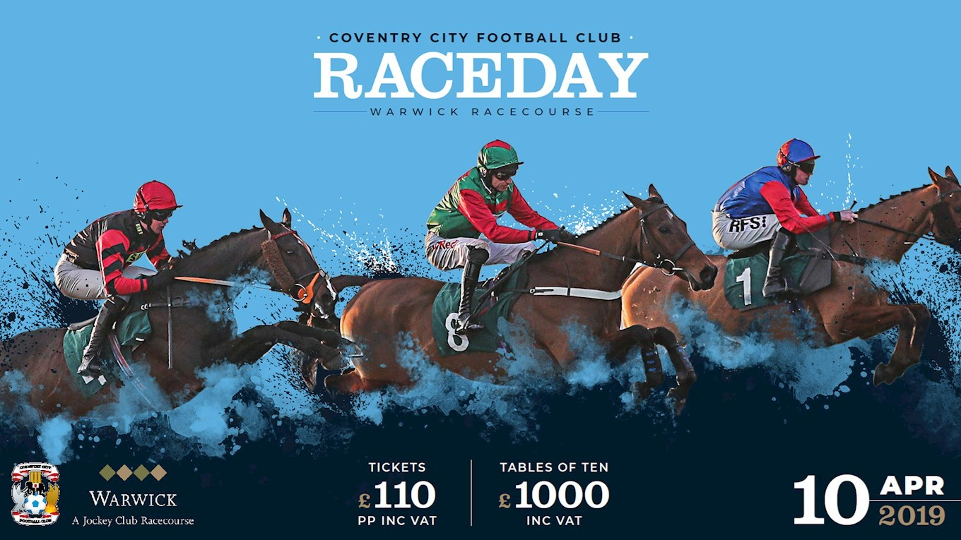 4ed293dc52666 EVENTS  Book a place for the Coventry City Race Day! - News ...