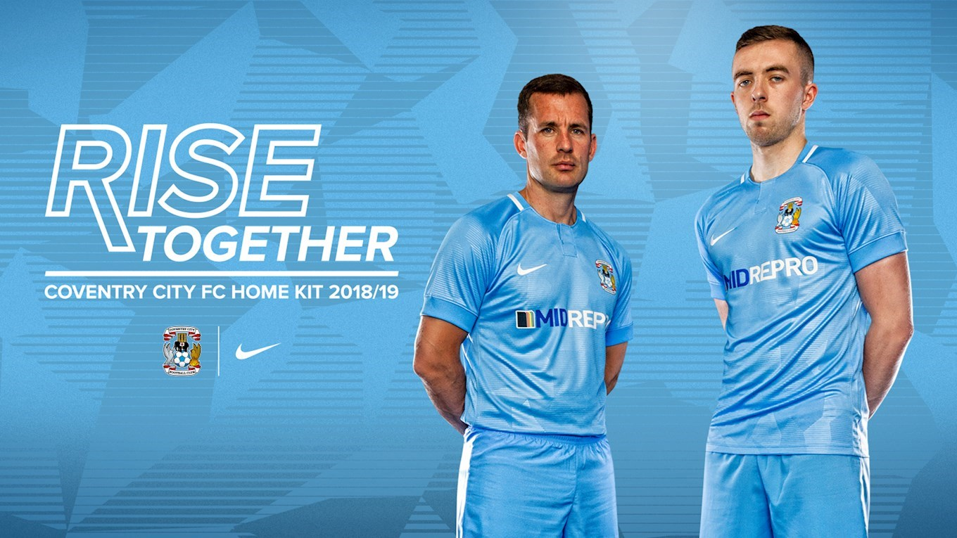692b9d4336c NEWS: 2018/19 Home and Away Kits revealed! - News - Coventry City