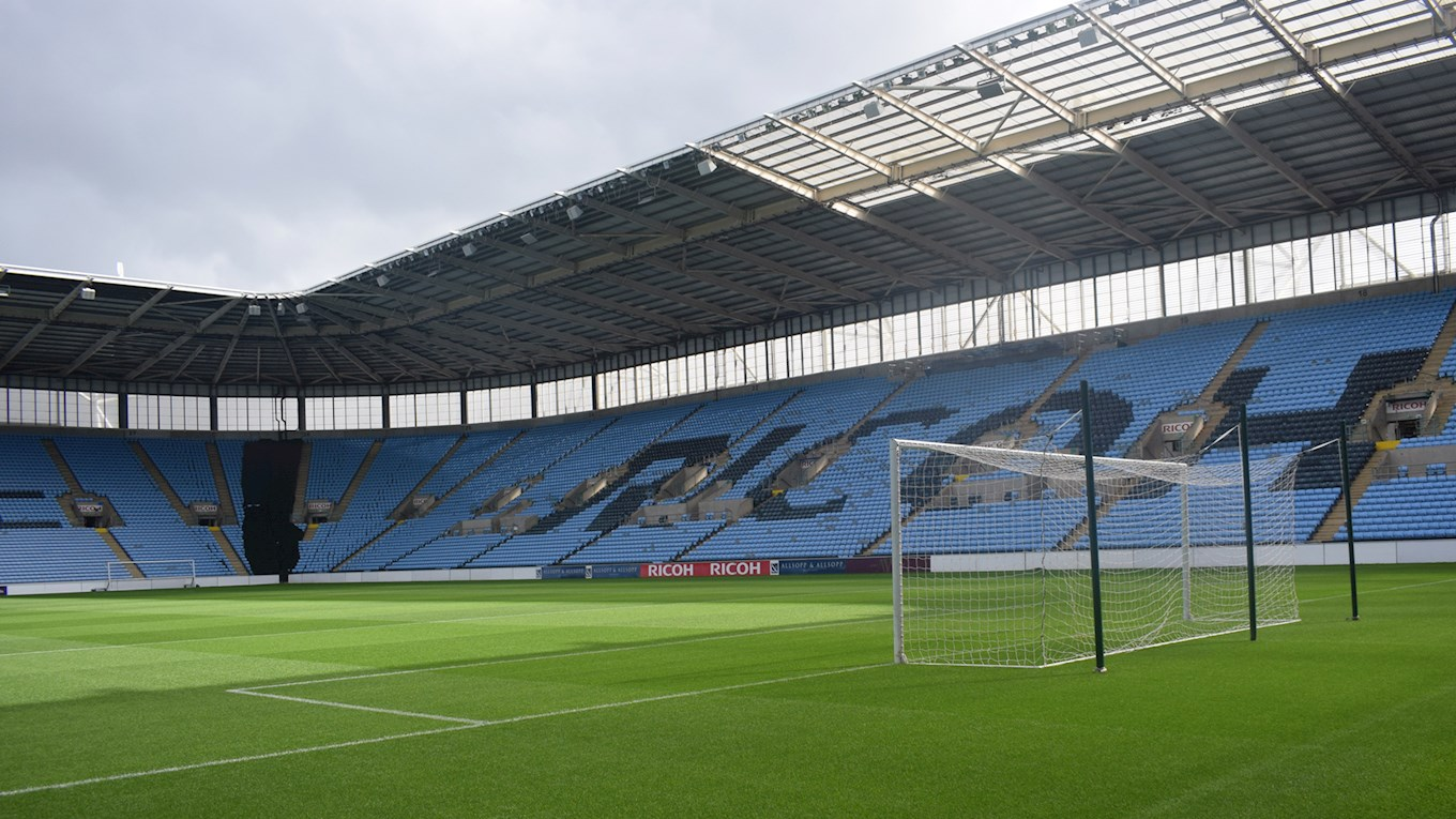 Coventry City (A): Initial Ticket Allocation Sells Out - More to Go on Sale Tomorrow