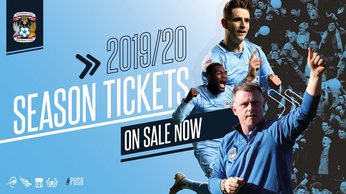 f1f62cfd NEWS: 2019-20 Season Tickets on sale now - News - Coventry City